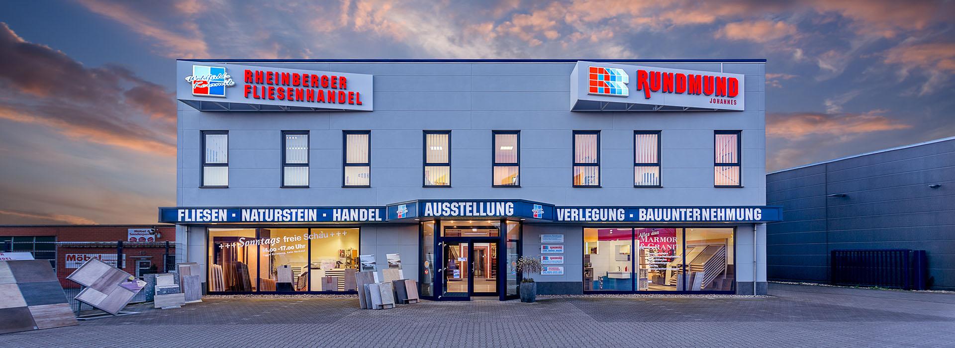 Fliesenhandel  Rheinberger Fliesenhandel - Rundmund Fliesen - Estrich Rheinberg ...